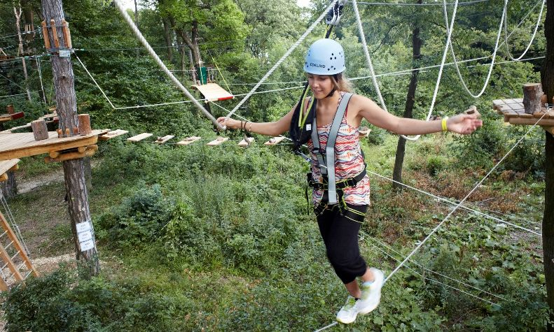 Kletterausrüstung Wien : Waldseilpark kahlenberg döbling bezirk wien