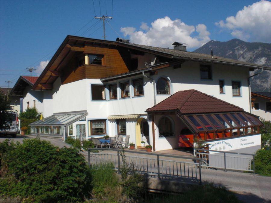 Stadt von Buch in Tirol in der Region Tirol